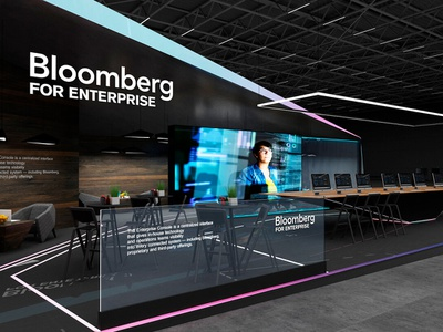 Exhibition Stand Designers For Bloomberg 2018 Gm Stand Design 3dmax design stand design exhibition stand design exhibition design exhibition booth design exhibit design design exhibitions booth design