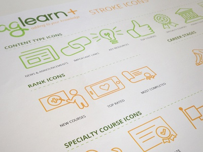 AgLearn Stroke Icons stroke icons