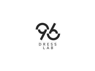 96 Dress Lab - Logofolio 2015-2017 logo grid lab dress numbers identity logo design icon fashion 6 9 brand logo