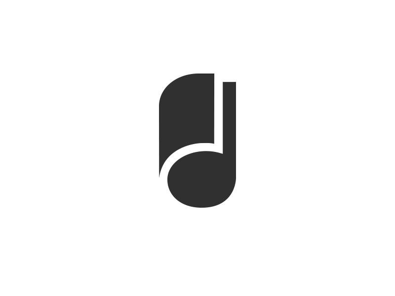 Toutmus logofolio 2015-2017 gestalt negative space logotype system branding identity note mag symbol mark icon logo design music