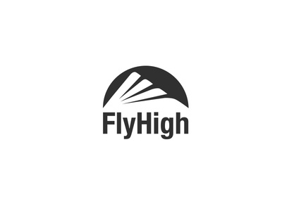 FlyHigh Logofolio 2015-2017 grid construction logo logotype wordmark identity system graphic design eagle fly high sportswear brand mark symbol icon brand identity