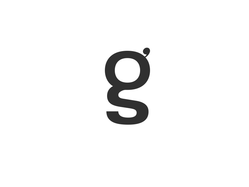 Gianluca Santoro Logofolio 2015 2017 symbol icon logo logotype wordmark identity system graphic design monogram g s personal brand symbol brand identity