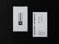 Urban Socks // Business cards