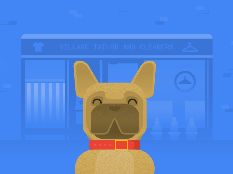 French Bulldog by Sydney St  Clare | Dribbble | Dribbble