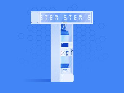 STEM Letter T
