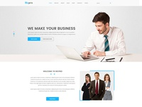 Ricpro – Corporate PSD Template