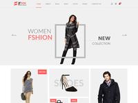 Fson – New Fashion eCommerce PSD Template