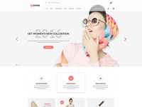 Sathee – Fashion eCommerce PSD Template