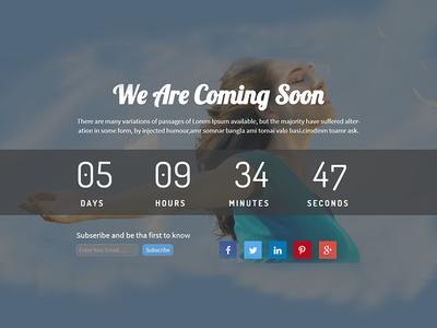Rakib – Responsive HTML5 Coming Soon Template by Free Themes Cloud ...