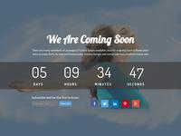 Rakib – Responsive HTML5 Coming Soon Template