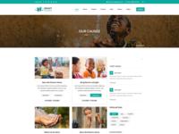 Grant Foundation PSD Template