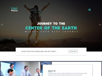 Travel Bootstrap Landing Page Template