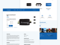 Sammie Online Store - Product page