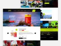 Authentic Nutrition - Home Page / Ecommerce
