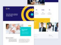 Webdesign Exploration  - Home page
