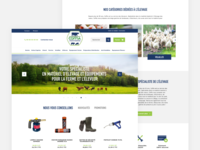 Client Home Page Redesign
