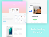 Trello landing page redesign