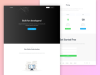 Github landing page redesign