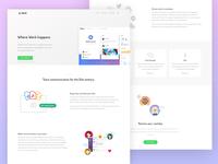 Slack landing page redesign