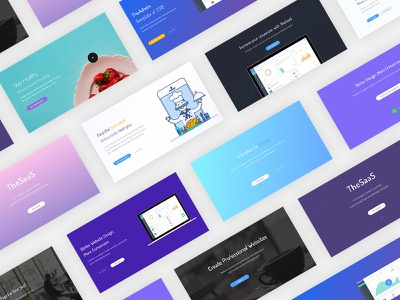 Cover- TheSaaS design saas css html template thesaas cover