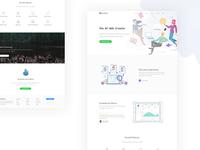 WordPress Landing Page Redesign