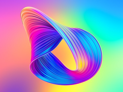 Awesome Twisted Shapes #4 shape 3dart logo neon liquid creative market illustration octanerender octane cgi 3d illustration 3d art 3d c4d cinema 4d cinema4d