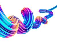 Abstract Liquid Waves #2