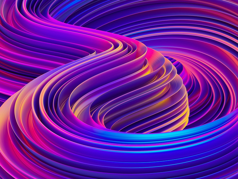 Abstract Liquid 3D Backgrounds #2 background waves shapes neon holographic fluid liquid creative market illustration 3d illustration 3dart 3d art 3d octanerender octane cinema 4d cinema4d c4d