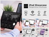 iPad Showcase Responsive Mockups