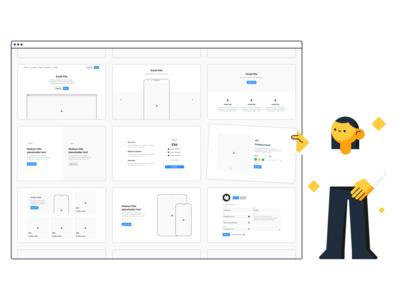 Frames 2 - Web Design Kit for Sketch