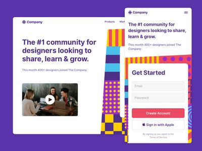 Made with Slice - Design community website