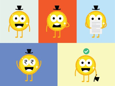 Mr. Coin Character