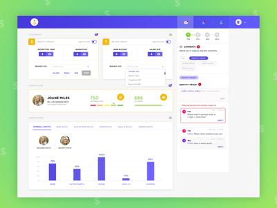 2.0 Fintech Dashboard Inspiration