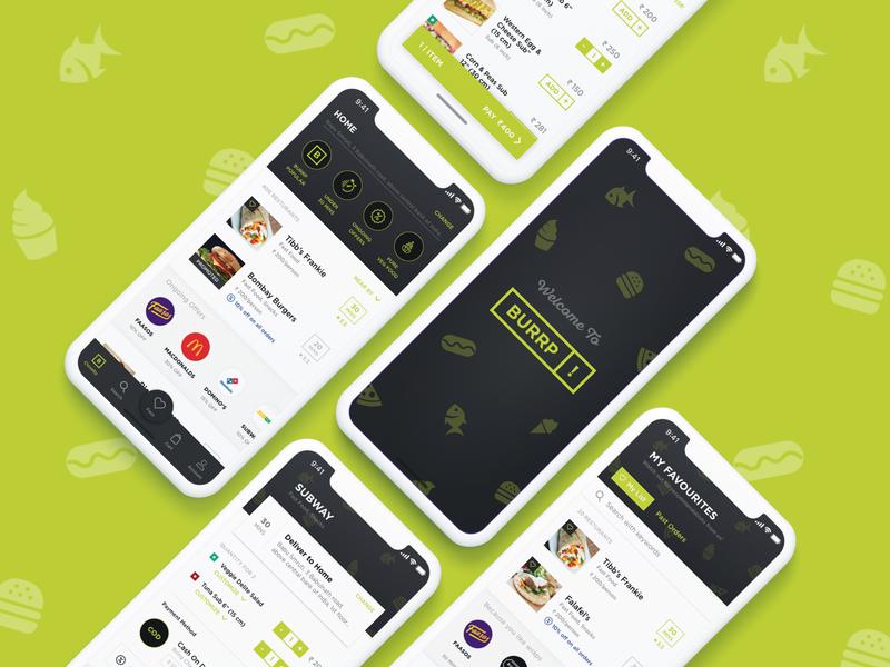 BURRP! A mobile food delivery app experiment! design app user interface design user experience designer user experience design user interface user experience userinterface ux  ui ui  ux ui design uiux uidesign uxui uxdesign ux design appdesign ux-ui ux design ui