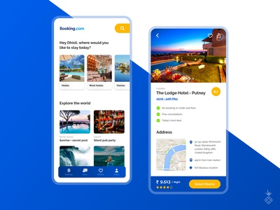 A travel app redesign experiment!