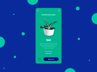 An online plant store design experiment!