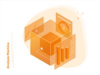 Analysis Machine - Tech illustration!