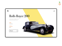 The vintage car on collection website!