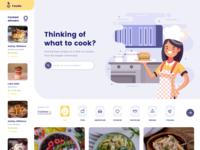 The food recipe website!
