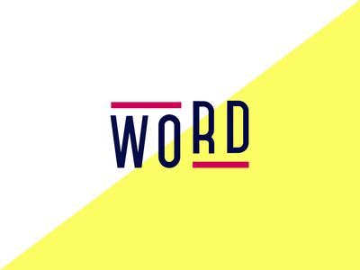 WORD LOGO - An influencer marketing platform interaction brand motion design logotype microanimation design illustration typography branding ux ui animation motion logo