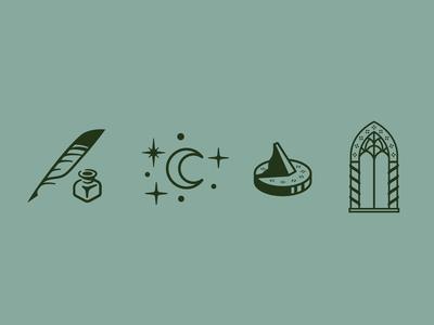 Elvish Wedding Icons