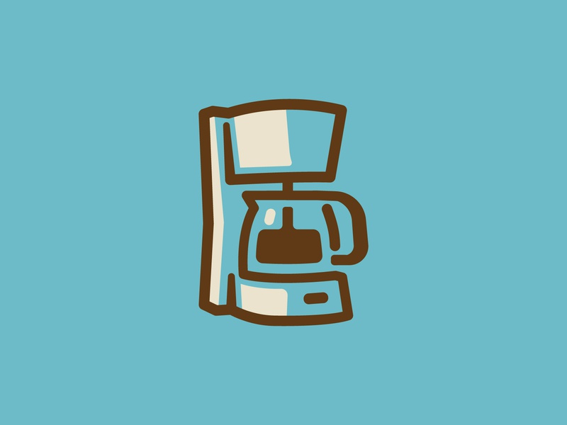 Coffee Maker Icon midnight oil bean brew coffee maker icon coffee