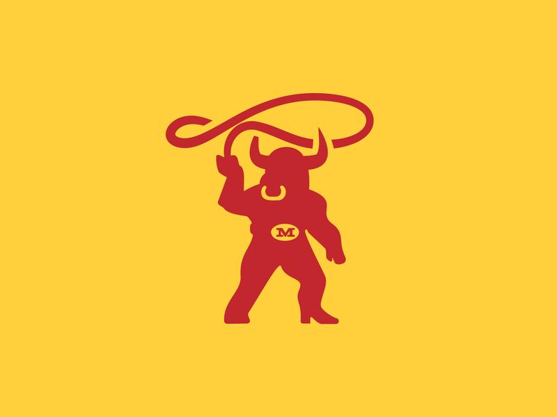 Mingua Redesign Bull Mark rebrand mingua jerky bull logo redesign