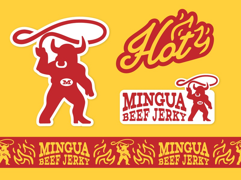 Mingua Redesign Collateral kentucky rebrand redesign beef jerky jerky