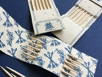 Colonial Toothpick Holders
