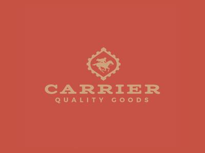 Carrier Branding Logo horse stamp western logo branding
