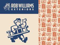 Rob Williams Exteriors Branding