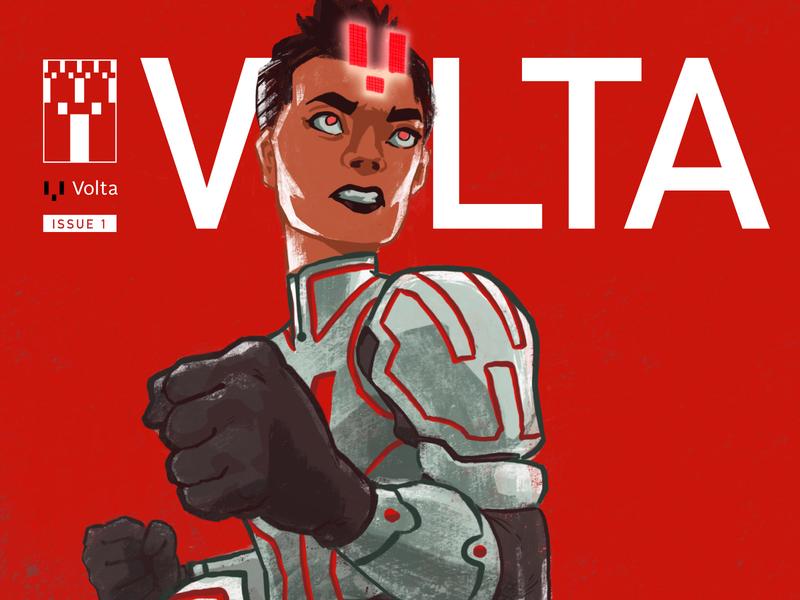 Volta Comic Book Campaign superhero it comics mailer comicbook