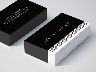 cards for a pianist