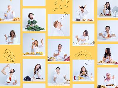 team photoshoot photography food photoshoot team